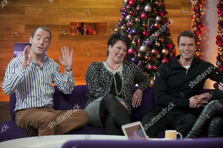 Martin Lewis, Hayley Taylor and Matt Roberts