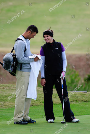 Martin Kaymer and Alison Micheletti