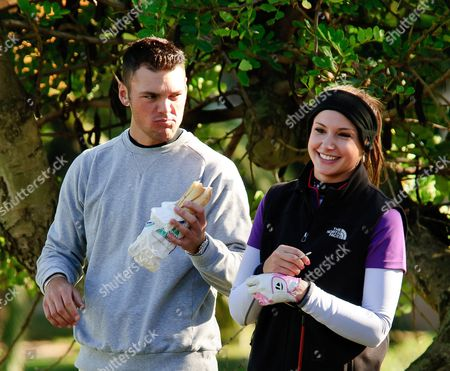 Stock Picture of Martin Kaymer and Alison Micheletti