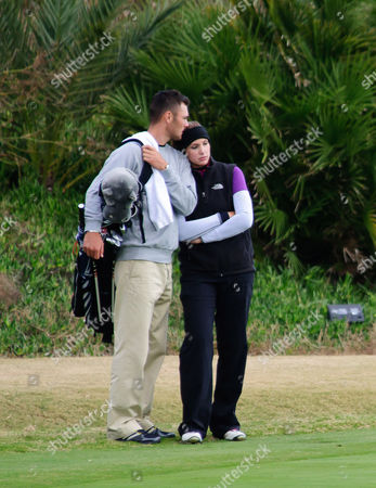 Stock Image of Martin Kaymer and Alison Micheletti
