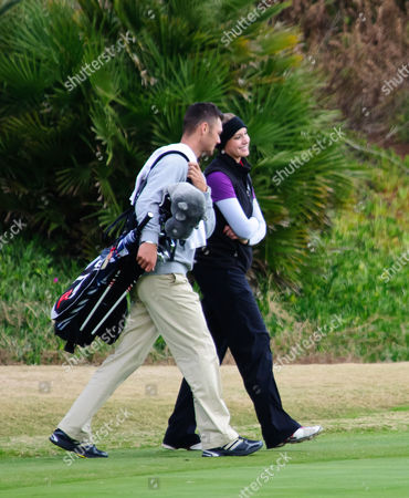 Stock Photo of Martin Kaymer and Alison Micheletti