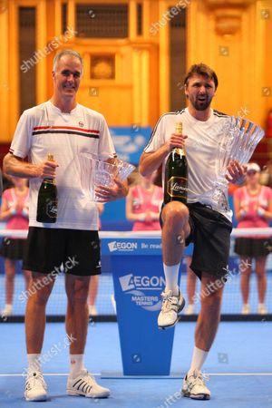 Todd Martin and Goran Ivanisevic