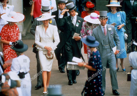 Princess Diana, Oliver Hoare and Prince Charles