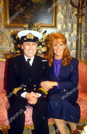 MIKE YARWOOD AND KATE ROBBINS IMPERSONATING SARAH FERGUSON AND PRINCE ANDREW ON TV