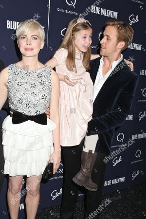 Editorial photo of 'Blue Valentine' film premiere, New York, America - 07 Dec 2010