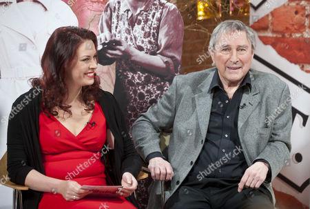 Sharon Marshall and Mark Eden