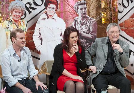 Tom Burroughs, Sharon Marshall and Mark Eden
