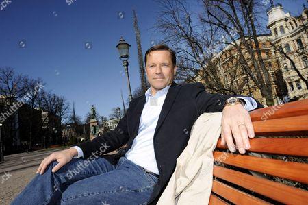Co-founder of MySQL, Marten G Mickos at the Esplanade Park