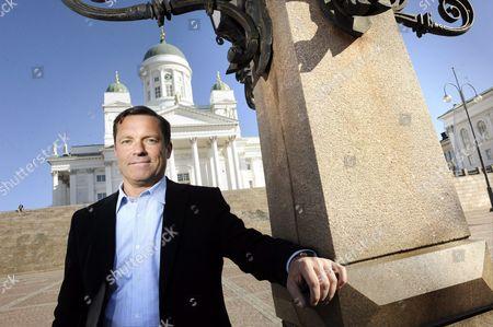 Editorial image of Marten G Mickos in Helsinki, Finland - 20 Apr 2010