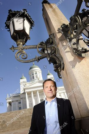Stock Picture of Co-founder of MySQL, Marten G Mickos at the Esplanade Park