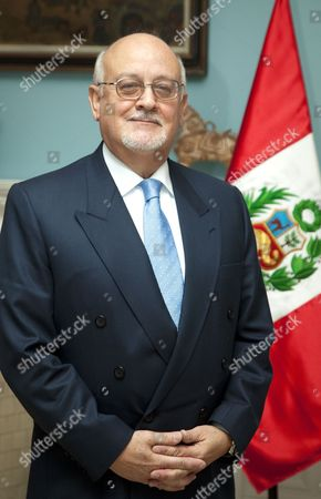 Editorial image of Peruvian Ambassador, Hernan A. Couturier, London, Britain - 07 Dec 2010