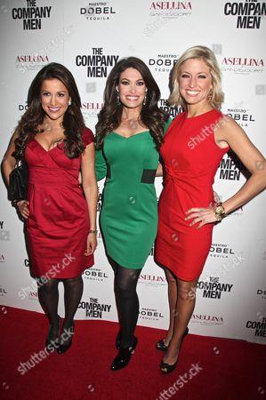 Gigi Stone, Kimberly Guilfoyle and Ainsley Earhardt