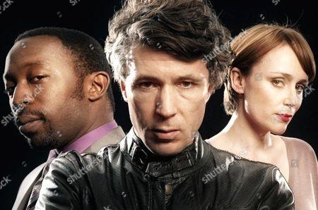 Aidan Gillen as DI John Bloom, Keeley Hawes as DSI Martha Lawson and Shaun Parkes as Anthony Wareing.