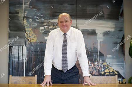 Editorial image of Richard Cousins, Chief Executive Officer of the Compass Group, Britain - 11 Nov 2010