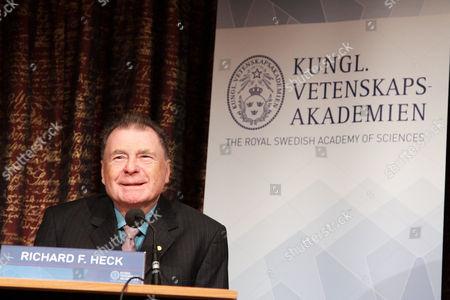 Editorial picture of 2010 Nobel Prize Laureates press conference, Stockholm, Sweden - 06 Dec 2010
