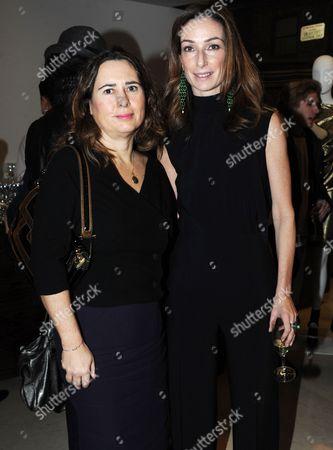 Alexandra Shulman and Sara Ferrero