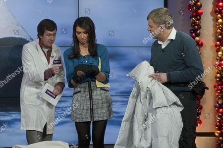 Editorial image of 'Daybreak' TV Programme, London, Britain. - 10 Dec 2010