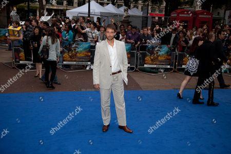 Matthew Marsden at the Transformers: Rise of the Fallen Film Premiere
