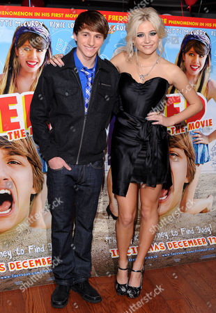 Lucas Cruikshank and Pixie Lott