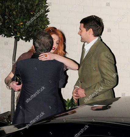 Louis Walsh, Nicola Roberts and Charlie Fennell
