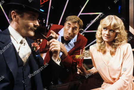 Stock Photo of Henry McGee, Frankie Howerd and Linda Cunningham
