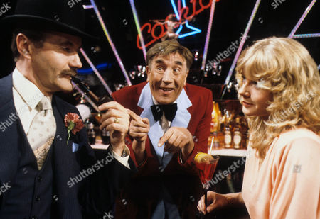 Henry McGee, Frankie Howerd and Linda Cunningham