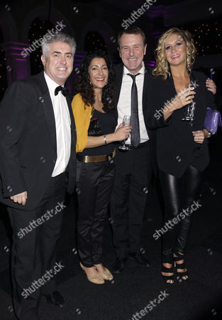 Nick Hancock, Phil Tufnell and Dawn Tufnell