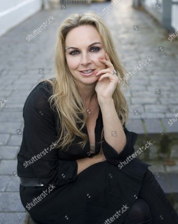 Editorial photo of Nail stylist to the stars, Andrea Fulerton at Monty PR agency west London, Britain  - 19 Nov 2010