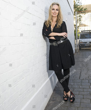 Editorial image of Nail stylist to the stars, Andrea Fulerton at Monty PR agency west London, Britain  - 19 Nov 2010