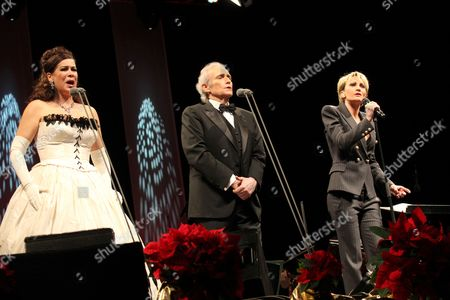 Natalia Ushakova, Jose Carreras and Patricia Kaas