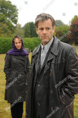 Stock Image of Episode: Falling Darkness Pictured: Niamh Cusack as Dr Ellen Jacoby and Rupert Graves as Alec Pickman