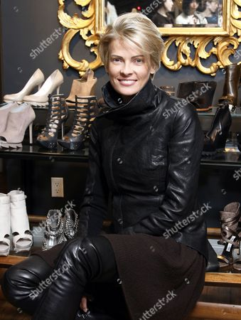Editorial picture of Camilla Skovgaard introduces her new collection at the Elizabeth Charles boutique, New York, America - 14 Dec 2010