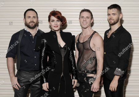The Scissor Sisters - Babydaddy, Ana Matronic, Jake Shears and Del Marquis