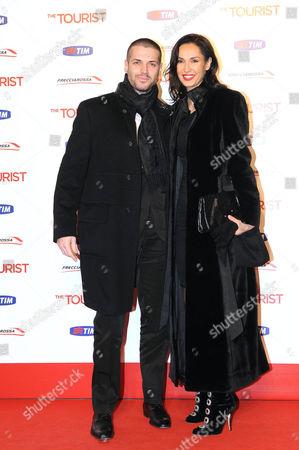 Editorial photo of 'The Tourist' film premiere, Rome, Italy - 15 Dec 2010