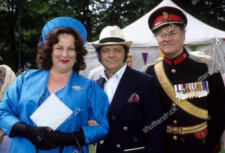 Pam Ferris as Ma, David Jason as Pop Larkin and Moray Watson as Brigadier