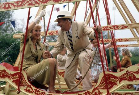 Kika Mirylees as Angela Snow and Moray Watson as Brigadier