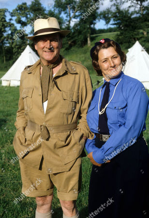 Moray Watson as Brigadier and Rachel Bell as Edith Pilchester