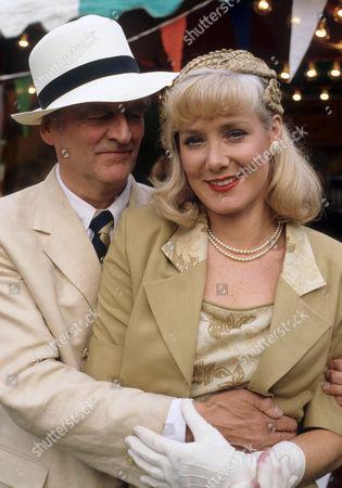 Moray Watson as Brigadier and Kika Mirylees as Angela Snow