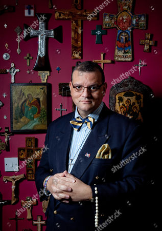 Stock Photo of Canon Andrew White aka The Vicar of Baghdad