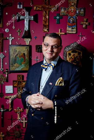 Editorial picture of Canon Andrew White, aka The Vicar of Baghdad, Liphook, Surrey, Britain - 07 Dec 2010