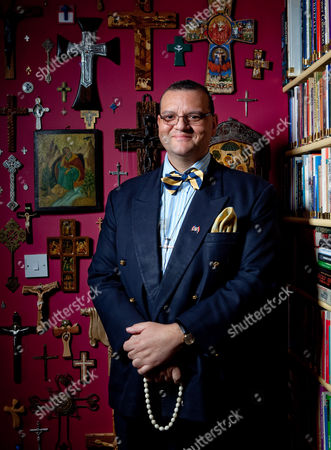 Stock Image of Canon Andrew White aka The Vicar of Baghdad