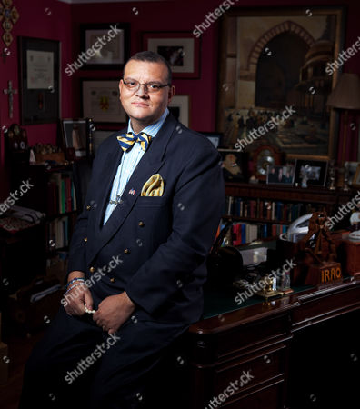 Editorial photo of Canon Andrew White, aka The Vicar of Baghdad, Liphook, Surrey, Britain - 07 Dec 2010