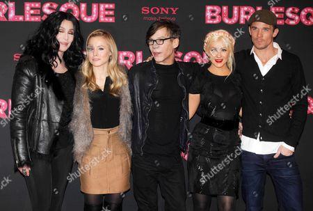 Cher, Kristen Bell, Steve Antin, Christina Aguilera Cam Gigandet