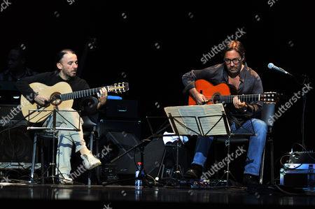 Editorial image of Al Di Meola in concert, St. Petersburg, Russia - 15 Dec 2010