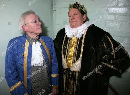 Stock Photo of Vince Hill and Sir John Madejski