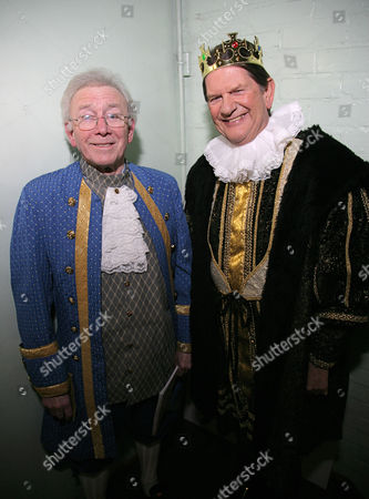 Vince Hill and Sir John Madejski