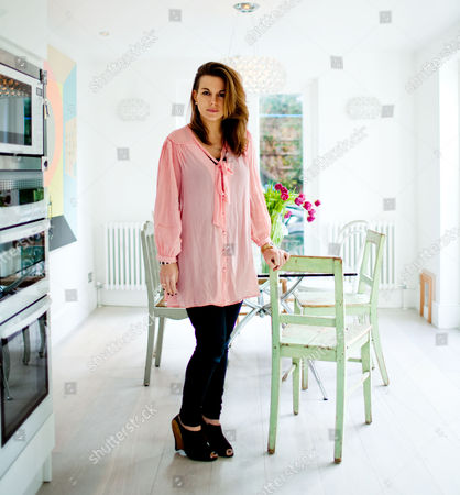 Stock Image of Designer, Cleo Barbour, Chelsea, London