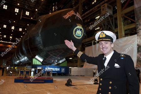 Commander Peter Green RN, new Commanding Officer for Ambush.