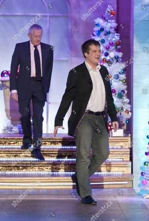 Stuart Baggs and Nick Hewer