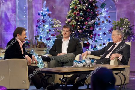 Alan Titchmarsh with Stuart Baggs and Nick Hewer